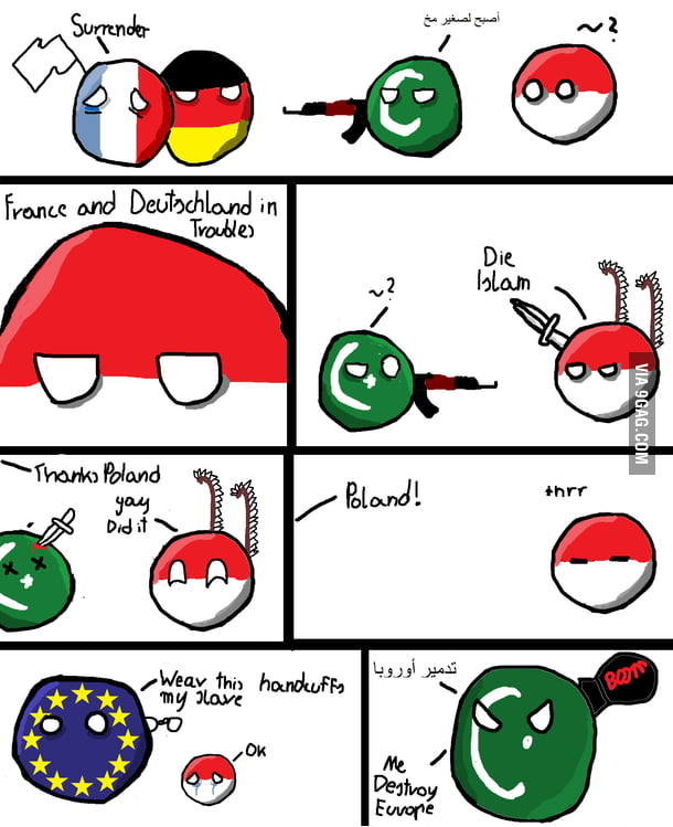 Countryball The French Never Surrender