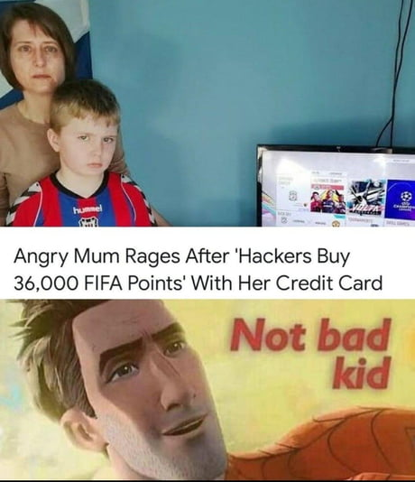 Not Bad Kid 9gag