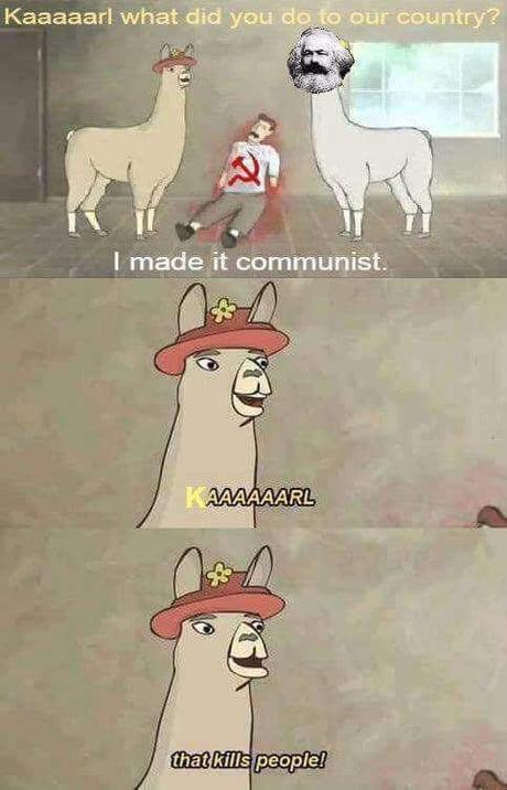 Meme Llama Carl