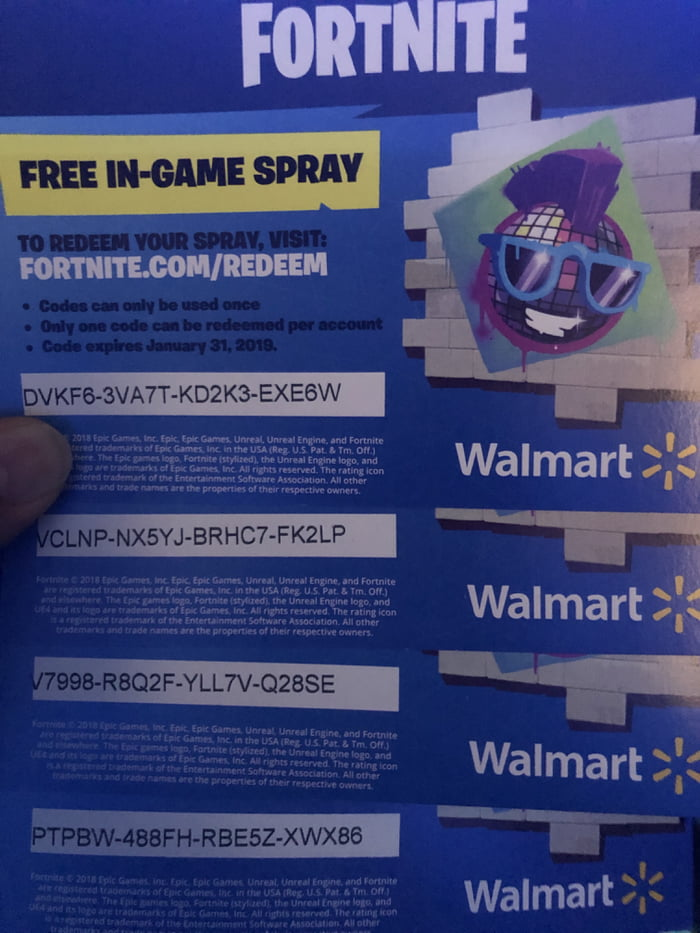 More fortnite spray codes. Got more on the way. - 9GAG