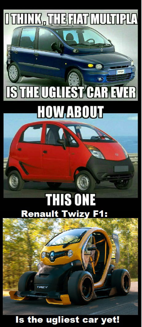 I Present To You Renault Twizy F1 In My Opinion The Ugliest Car