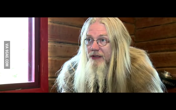 He Was Nightwish Bass Player Marco Hietala But Now He Is Just Like Dumbledore 9GAG