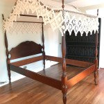 Vintage Mahogany Four Poster Bed Lofty Marketplace