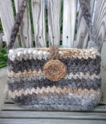 Large Alpaca Rug Purse