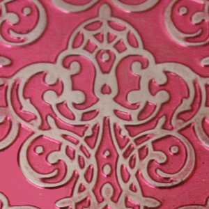 Princess Pink Metal Sheet
