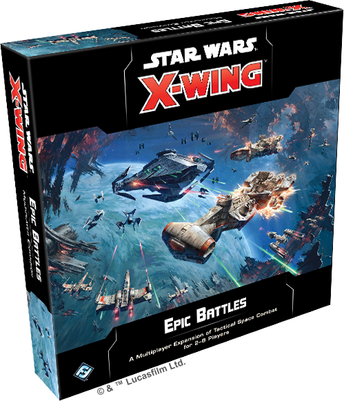 Image result for Star Wars: X-Wing– Epic Battles Multiplayer Expansion