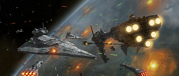 Capital Ships In Battle Fantasy Flight Games