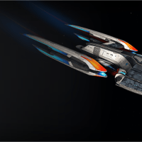 STAR TREK ONLINE | the tier six fleet Hestia Class... look out Defiant...