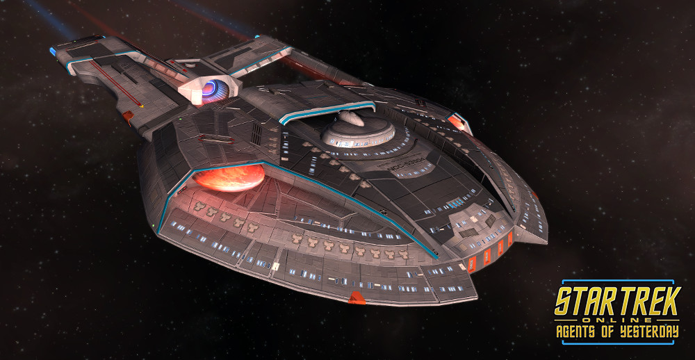 STAR TREK ONLINE | STEAMRUNNER -Blockade Runner Escort.. a very a small medium very nibble light carrier class vessel but it can really smack.. !