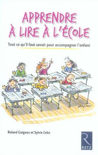 Livre - Apprendre à lire à l'école - Roland Goigoux