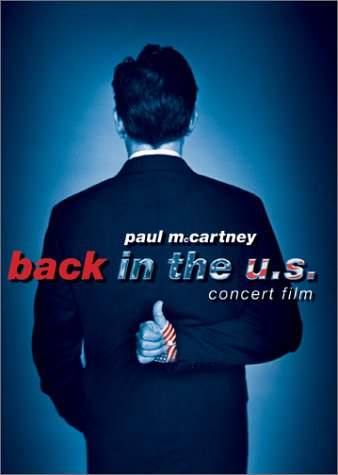 Capa do disco Back in the U.S