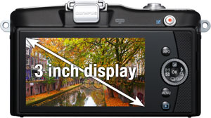 Large and high resolution LCD screen