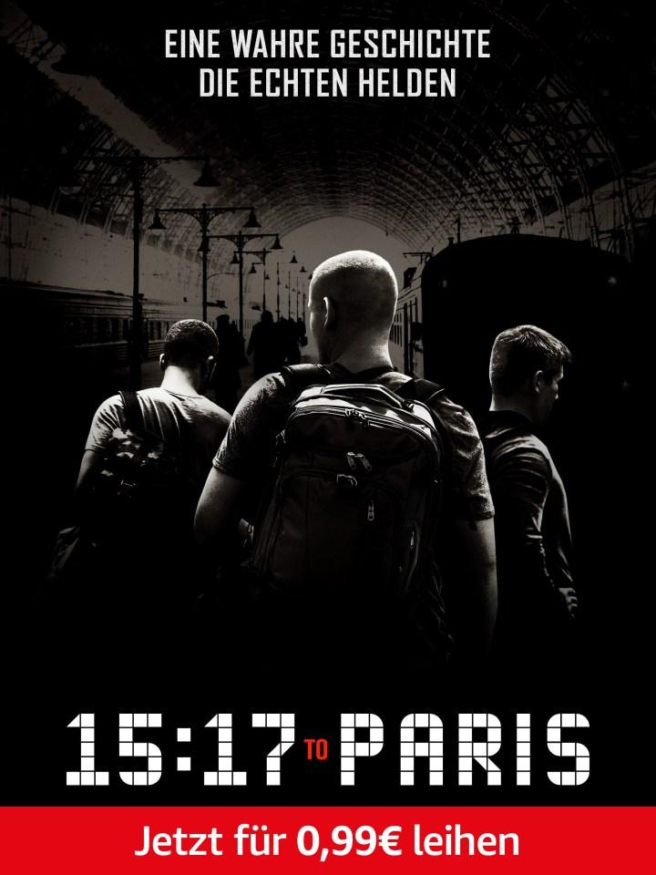 Nur heute: 15:17 To Paris für 0,99 leihen. Nur für Prime-Mitglieder.