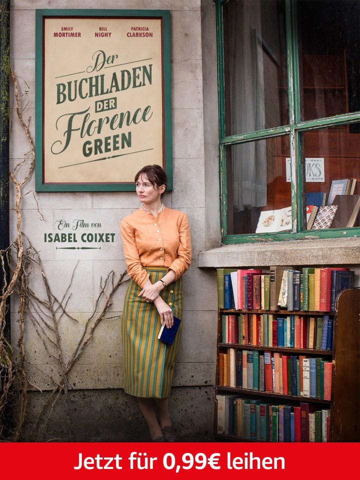 Nur heute: Der Buchladen der Florence Green für 0,99 leihen. Nur für Prime-Mitglieder.
