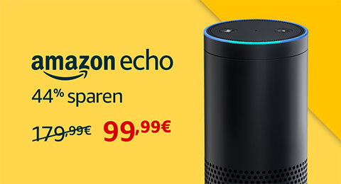 Amazon echo für 99,99€