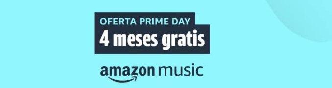 4 meses gratis Amazon Music