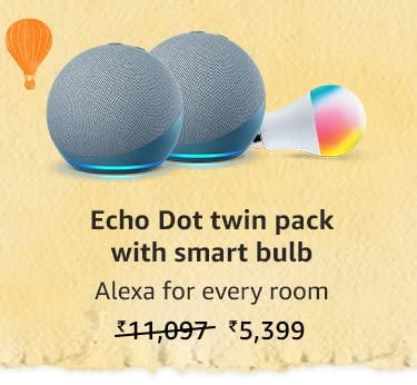 Echo Dot twin pack
