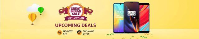 Amazon Republic Day Sale Smartphones