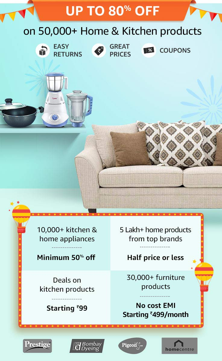 Amazon Home & Kitchen sale 2019