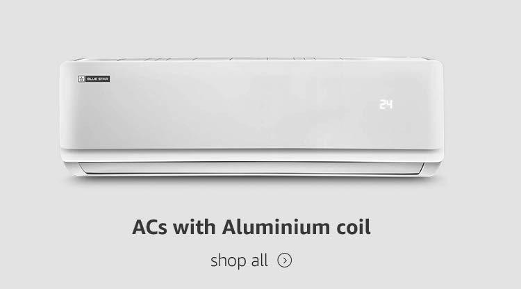 ACs with aluminium coil