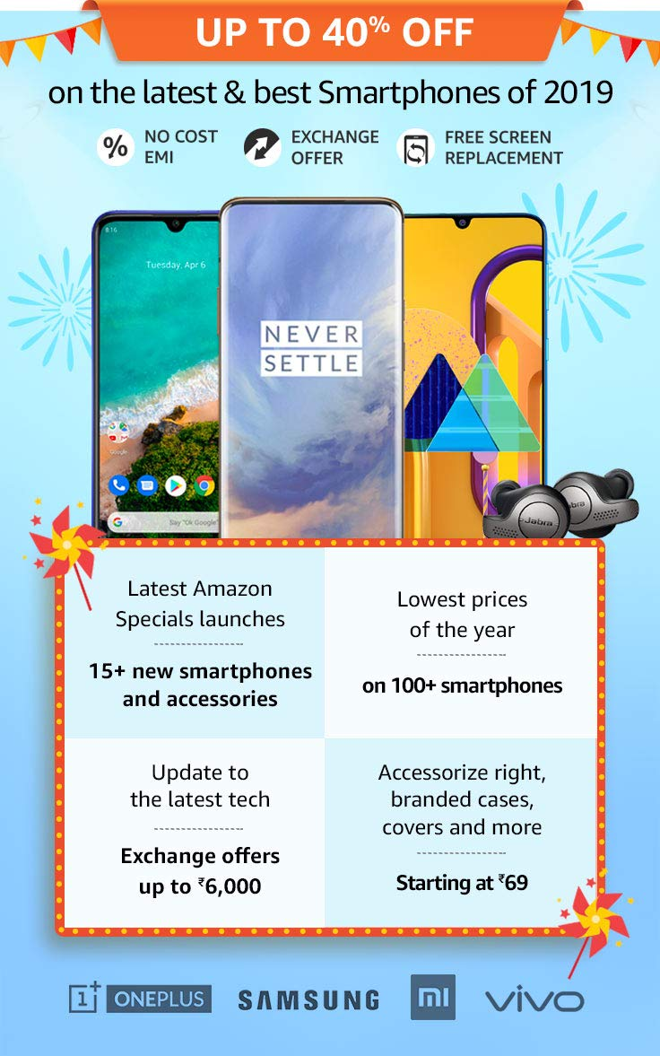 Best smartphone sale 2019