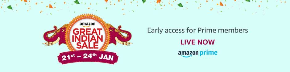 Amazon Great Indian Sale (21-24 Jan 2018)