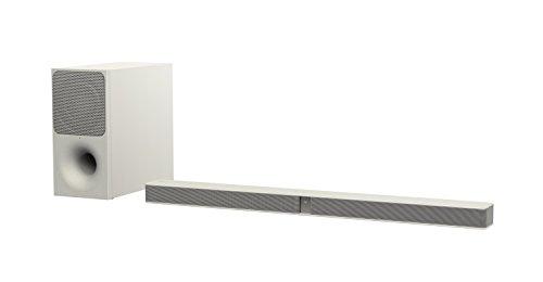 Sony HT-CT291 Soundbar, 2.1 Canali, Potenza 300W, Subwoofer wireless, Bluetooth, NFC, HDMI, USB, Bianco
