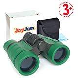 Regalos para Niños DE 6-8 años, Joy-Jam Binoculares para Niños Óptica Zoom, Juguetes de Aprendizaje Ligero con Estuche y Correa Verde Regalos de Cumpleanos Navidad