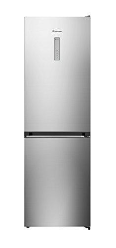 Hisense RB400N4BC3 Libera installazione 308L A+++ Acciaio inossidabile frigorifero con congelatore