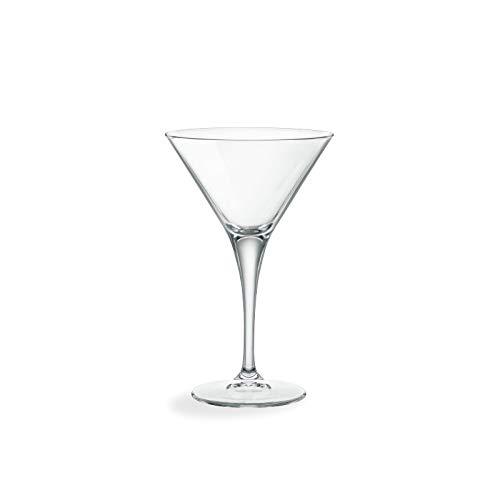 Bormioli-149820 B32-Bicchiere da Cocktail Ypsilon Trasparente 12,5 cl, Set da 6