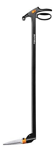 Fiskars Tijeras para hierba Servo-System, 100 cm, Acero/Plástico, Negro/Naranja, GS46, 1000590
