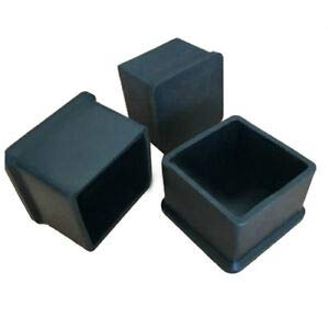 SLB Works 9 Pcs 35mm x 35mm Chair Table Leg End Caps Furniture Foot Covers U3N4