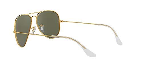 Ray-Ban-Gafas-de-sol-Aviador-RB3025-Aviator-metal-Gold