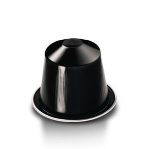 Nespresso Original Intenso coffee pods and capsules (a chocolate notes, citrus fruit, fruit notes, intense, roasted notes coffee with aromas of caramel and roasted, dried fruit and chocolate, dried fruit and citrus fruit, fresh fruit and petals)