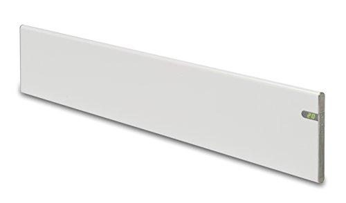 Bendex & Co Radiador eléctrico Blanco diseño Moderno Energía eficiente Altura 200 mm 1000W IP24 para baños Soporte Pared y de Suelo intergrado 2 en 1 bajo Consumo Pantalla Digital LED