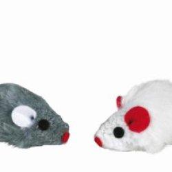 katzeninfo24.de TX-4503 Set of Plush Mice 5cm 6pcs