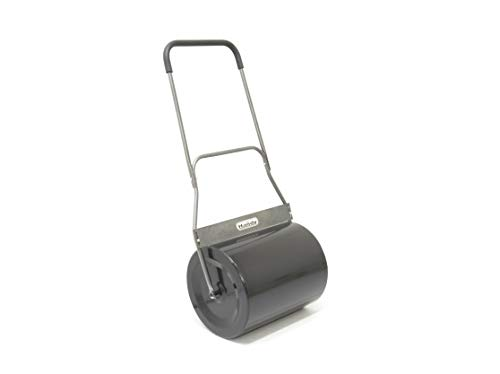 The Handy Garden Roller is not the largest of them all but it does its work quite effectively. Recommended for small-medium lawns, the roller comes with a diameter of 42cm and a width of 50cm. Without any filling, the roller weighs just 13kgs making it a light unit that is easy to manoeuvre with even when filled with sand/water. Made of strong steel, the unit is given a protective coating to keep rust and sun damage at bay.