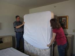 King-60x80x9-Inches-Bed-bug-proof-mattress-encasement-protector-cover-anti-allergy-anti-dust-mite-controls-asthma-all-sizes