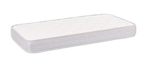 SLEEPAA Materasso per lettino per culla 120x60 Misura 120x60 Schiuma foam Cameretta biancheria...