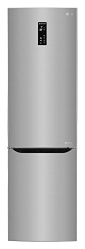 LG GBP20PZQFS Libera installazione 343L A+++ Acciaio inossidabile frigorifero con congelatore