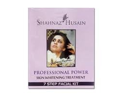Shahnaz Husain 7 Step Skin Whitening Treatment Facial Kit 48g+15ml