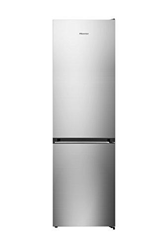 Hisense RB438N4EC3 Libera installazione 334L A+++ Acciaio inossidabile frigorifero con congelatore