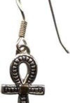 Ankhparaprosperidadsaludylargavida– pendientes–joyasdeAtum-Ra–antiguoEgipto Collection–juegocollardisponible