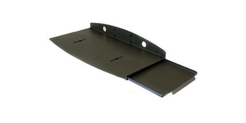 Keyboard Wrist Rest Assembly - Drawer with Mouse Tray - Black