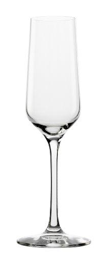 Bicchieri da spumante Stölzle Lausitz Revolution, 200ml, servizio da 6, perfetti per lo Champagne, calici da spumante eleganti