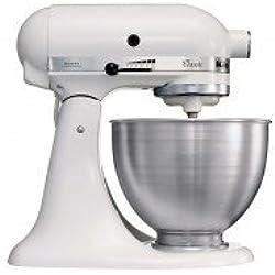 KitchenAid 5K45SSEWH Robot da Cucina Classic, 4.3 L - Bianco