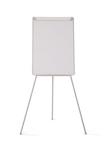 Bi-Office EA2370315 Lavagna Portablocco Magnetico con Cavalletto Treppiedi Basic, 700 x 1000 mm,...