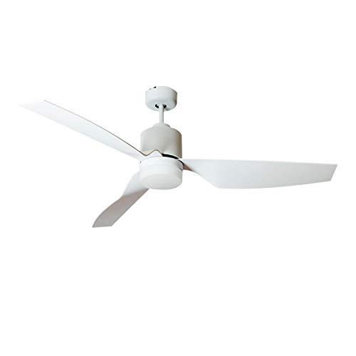 Ventilatore LED da Soffitto Minimal PRO Super Silenzioso Tª Colore Selezionabile 15W Bianco...