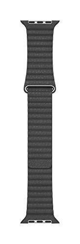 Apple Watch Loop in pelle nero (44 mm) - Large