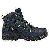 Salomon Quest Prime GTX, Zapatillas de Deporte Exterior para Hombre, Azul (Navy Blazer/Ombre Blue/Lime Punch), 43 1/3 EU